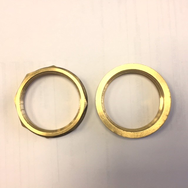 "1 9/16"" Brass Locking Ring EF01300"